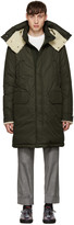 Moncler Green Down Grafton Parka