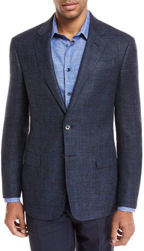 Giorgio Armani Melange Wool Two-Piece Suit