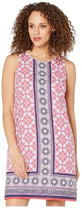Tommy Bahama Tropical Terrazza Shift Dress (Paradise Pink) Women's Clothing