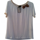 Fendi Ecru Viscose Top