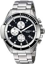 Tommy Bahama Men's Quartz Stainless Steel Casual Watch, Color:Silver-Toned (Model: TB00011-01)