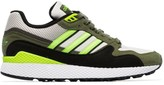 adidas green Ultra Tech suede low-top sneakers