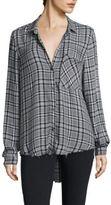 Bella Dahl Plaid Button-Down Shirt