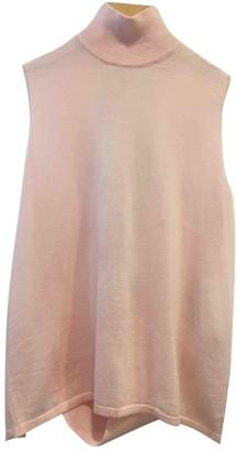 Dion Lee Pink Wool Knitwear