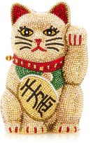 Judith Leiber Couture Beckoning Cat Maneki Neko Clutch