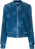 Stella McCartney Denim Bomber With Stars