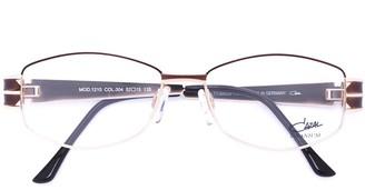 Cazal enamelled oval frame glasses