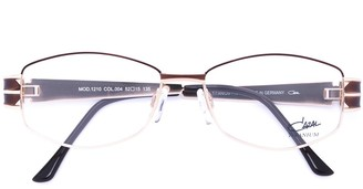 Cazal Enamelled Oval Frame Glasses