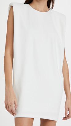 Endless Rose Knit Dress with Shoulder Pads