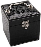 Panda Superstore Elegant Square Jewelry Storage Box 12.5x12.5x12.5