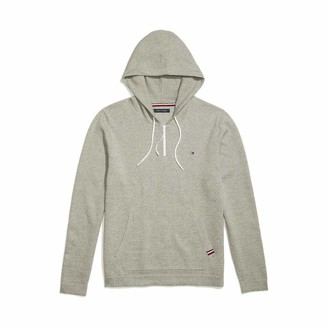 Tommy Hilfiger Men's Adaptive Hooded Sweater with Extended Zipper Pull