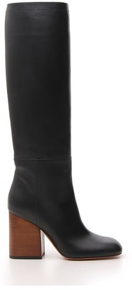 Marni Knee-Length Chunky Heel Boots