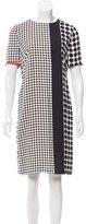 Akris Punto Polk-Dot Print Silk Dress
