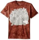 The Mountain Men's Colorwear Animals 25 Adult Coloring T-Shirt