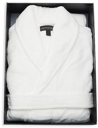 Saks Fifth Avenue Boxed Luxurious Plush Fleece Robe