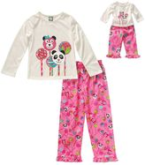 Dollie & Me Girls 4-14 Cake Pop Pajama Set