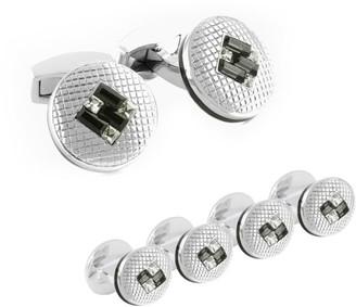 Tateossian SW Interlock Cufflinks