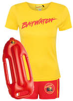 George Adult Baywatch Fancy Dress Costume
