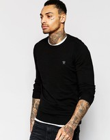 Diesel Crew Knit Jumper K-maniky Slim Fit Lightweight