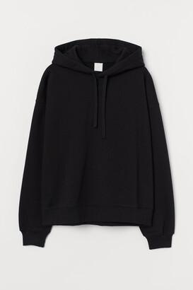 H&M Cotton Hoodie - Black