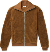 Cmmn Swdn Fleece Track Jacket - Camel