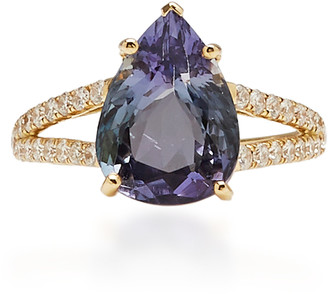 Yi Collection 18K Gold, Tanzanite And Diamond Ring
