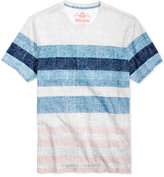 American Rag Men's Textured Stripe T-Shirt, Only at Macy's