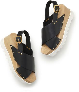 Stella McCartney Percy Plastic Stacked Sandals