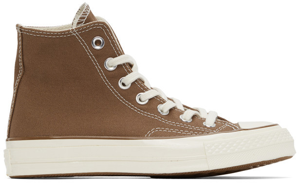 Carhartt Work In Progress Brown Converse Edition Chuck 70 High Sneakers