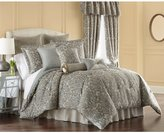 Rose Tree Dresden Ikat Damask & Geometric Reversible Comforter Set