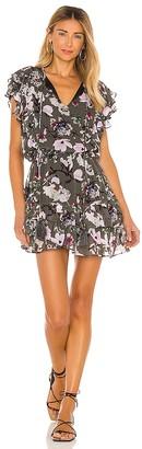 Karina Grimaldi Raffa Print Mini Dress