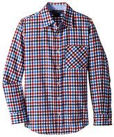 Toobydoo Happy Checks Flannel Shirt (Infant/Toddler/Little Kids/Big Kids)
