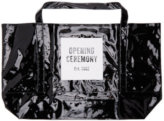 Opening Ceremony Black Box Logo Giant Shopper Bag