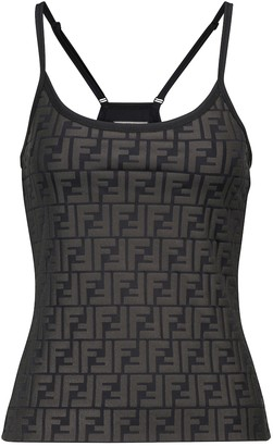 Fendi FF performance tank top