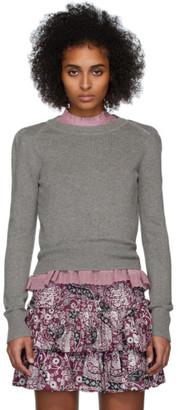 Etoile Isabel Marant Grey Kleely Sweater