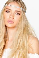 Boohoo Ivy Embellished Floral Elasticated Hair Chain