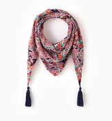 Promod Triangular patterned scarf