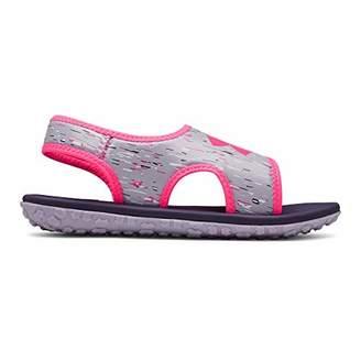 Under Armour Girls' Pre School Fat Tire III Slide Sandal