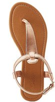 Charlotte Russe T-Strap Thong Sandals