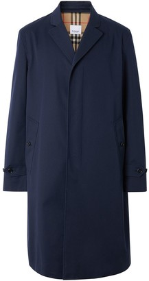 Burberry Concealed-Fastening Single-Breasted Coat