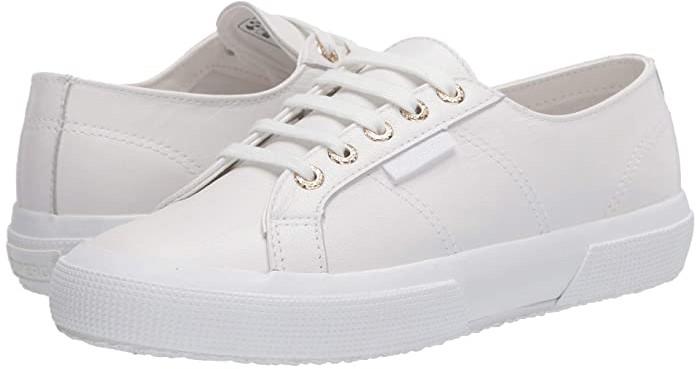 Superga 2750 Nappaleau Sneaker (White