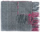 N.Peal cashmere check scarf - women - Cashmere - One Size