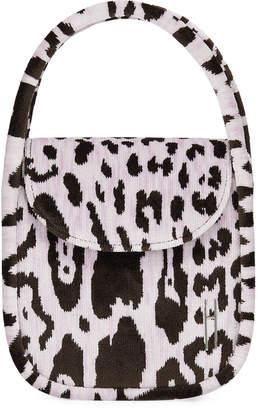 Hayward Lucy Top-Handle Bag in Leopard Brocade