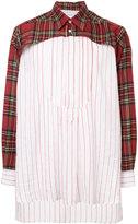 Loewe panelled shirt