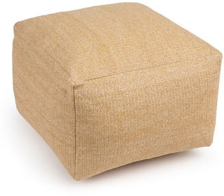 SONOMA Goods for Life Indoor Outdoor Hermosa Pouf