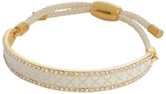 Halcyon Days Gold And Crystal Agama Bracelet