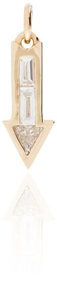 Lizzie Mandler Fine Jewelry 18kt Gold Arrow Charm