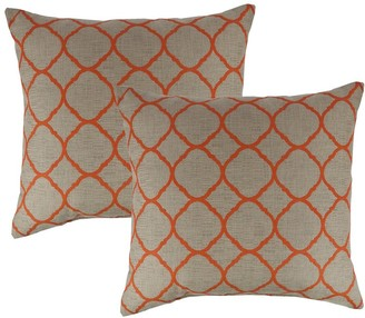 Austin Horn Classics Sunbrella Accord Koi 18-inch Outdoor Pillow