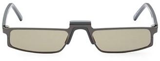 Andy Wolf White Heat Muhren 52MM Rectangle Sunglasses