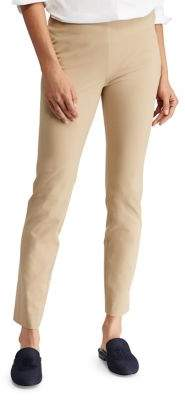 Lauren Ralph Lauren Classic Twill Skinny Pants